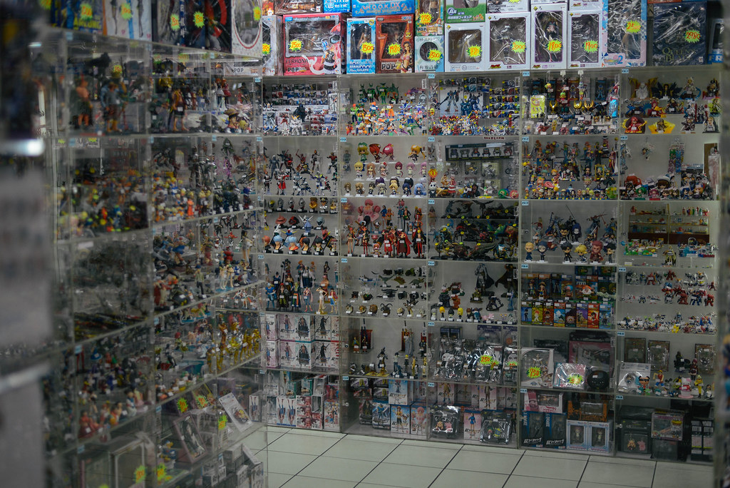 Anime Figure Store In Taipei AndrewMai Tags Life Street Trip Travel Food Holiday