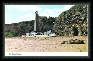 A00698 the grotto marsden - postcard