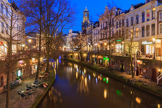 Blue hour @ Utrecht