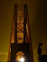 Forth Bridge At Night (2) (Royan@Flickr) Tags: bridge night edinburgh south rail forth firth queensferry cantilever of 20140222