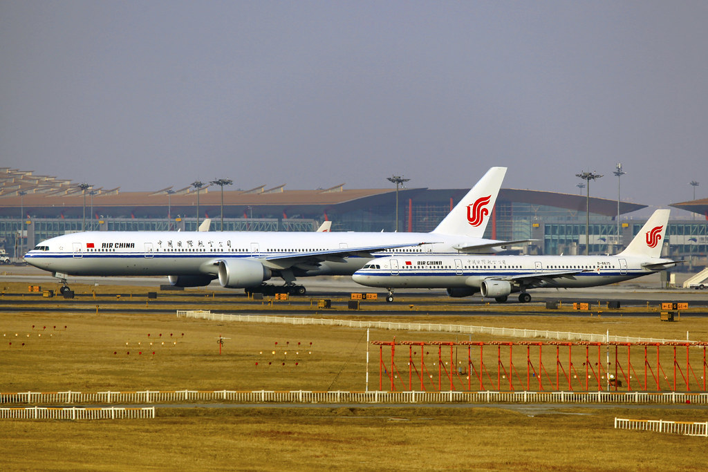 B-2046 & B-6675 | Air China | Boeing 777 by byeangel, on Flickr