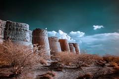Derawar Fort infrared (Ahmed Sajjad Zaidi) Tags: infrared cholistan derawarfort derawar cholistandesert