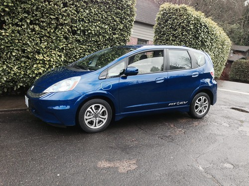 2013 Honda Fit EV (Zipcar)
