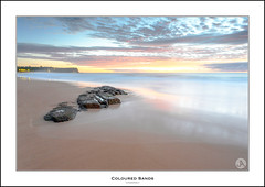 Coloured Sands (John_Armytage) Tags: longexposure seascape reflection beach sunrise dawn sand australia nsw warriewood canon1740 leefilters warriewoodbeach canon5d3 monavalesouth