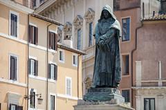 Giordano Bruno (_Codename_) Tags: italy rome statue honeymoon campodefiori giordanobruno