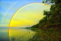 Rainbow Express (Kansas Poetry (Patrick)) Tags: rainbow kansas clintonlake patrickemerson patricknancy