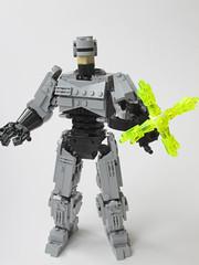 Robocop (Marin Stipkovic) Tags: alex robot lego detroit police officer murphy mecha mech robo ocp kockice