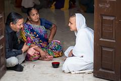Consultation with A Monk (jeff_a_goldberg) Tags: india maharashtra mumbai jaintemple babuamichandpanalaladishwarjitemple