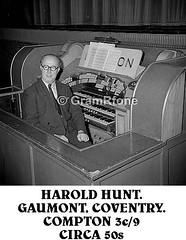 Harold Hunt (1) (gramrfone) Tags: cinema theatre organists
