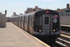 IMG_8645 (GojiMet86) Tags: new york city nyc 30 subway mta 30th avenue 2008 8904 bmt 8905 8906 8907 8903 r160b