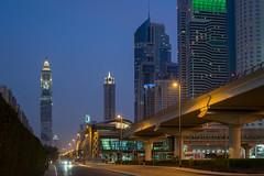 WTC Metro station (jmhuttun) Tags: nikon dubai uae unitedarabemirates d800 sheikhzayedroad