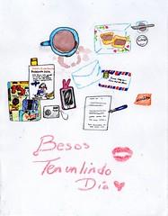 Bonito Da (aloclita) Tags: illustration revistas colores libros ilustracin crayolas acuarelas