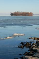 Lake Oologah (Rural Roads Photography) Tags: winter oklahoma nature water frozen nikon lakes outdoorphotography lakeoologah