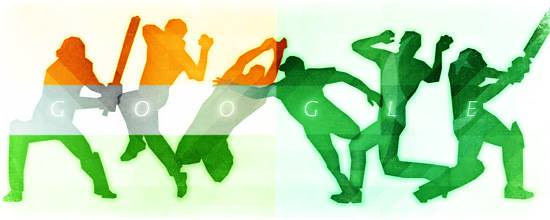 #Doodle do #Google de hoje: Cricket World Cup 2015 - India vs. Pakistan http://ift.tt/1AAg3YX