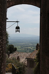 Umbria from Assisi (rferrarim) Tags: travel italy canon landscape europa europe italia vale valley umbria assis citywall 2014 subframe canoneos1100d