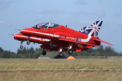BAe Hawk T.1 XX177 (Newdawn images) Tags: airplane hawk aircraft aviation military jet airshow bae redarrows raf t1 jetfighter airdisplay royalairforce militaryjet karup canoneos7d xx177 baehawkt1xx177