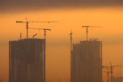 Morniing (engine9.ru) Tags: morning colors architecture buildings crane ngc abudhabi abu dhabi koyaanisqatsi