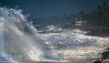 Massive Wave Attack, Kerala, India (Peraion) Tags: ocean india house rocks asia wave stormy kerala palmtrees shore massive arabiansea