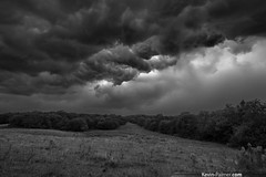 Turmoil (kevin-palmer) Tags: summer blackandwhite storm clouds dark illinois threatening stormy august thunderstorm prairie severe mackinaw whalesmouth kevinpalmer pentaxk5 samyang10mmf28