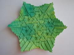 Stars - Ben Parker (Monika Hankova) Tags: paper origami tessellation