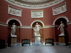 The Pantheon (amy's antics Will catch up with commenting ASAP) Tags: building pantheon statues stourhead restored