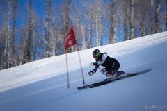 Downhill Skier (Evan Gearing (Evan's Expo)) Tags: ski utah ut skiing unitedstates downhill skier parkcity
