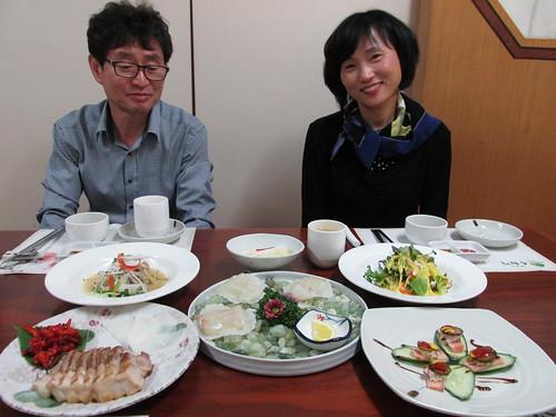 Les parents d'Agnès, Séoul, Corée du Sud