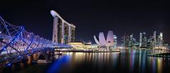Marina Bay (deanmullin) Tags: bridge reflection water night zeiss marina lights bay singapore nightime carlzeiss variosonnart281635