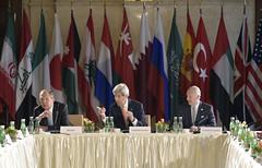 Gespräche der International Syria Support Group (ISSG) in Wien 17.5.2016