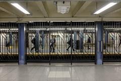 Year after Year (wwward0) Tags: nyc newyork station train underground subway unitedstates manhattan platform cc etrain mta commuter chambersst wwward0