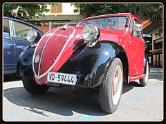 Fiat 500 Topolino A, 1947 (v8dub) Tags: auto old classic car schweiz switzerland italian automobile suisse fiat automotive voiture oldtimer 500 oldcar collector 1947 topolino wagen pkw klassik chavornay a worldcars