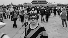 (Anwen2010) Tags: china bw monochrome fuji beijing tiananmensquare tiananmen xe2