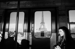 (Paul McFarland) Tags: paris tower metro eiffel