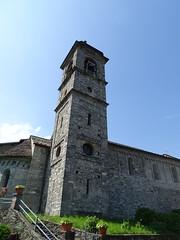 Abbazia di Piona - Abbey of Piona - Abtei von Piona (Como Lake, Lombardy, Italy) (Loeffle) Tags: italien italy abbey italia lombardia italie lecco comolake lagodicomo lombardy colico abbazia comersee abtei lombardei piona abbaziadipiona abbeyofpiona 052016