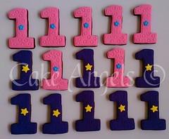 Number 1 Cookies (Cake Angels) Tags: birthday cookies cake monkey cookie boots 1st explorer diego dora angels bouquet wwwcakeangelsconz