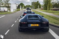 Lamborghini Aventador LP 700-4 (Bas Fransen Photography) Tags: lp lamborghini 7004 aventador blacklamborghiniaventadorlp7004 newlamborghiniaventadorlp7004 dutchlamborghiniaventadorlp7004