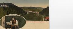Schwarzwald, Germany 1922 (catarina.berg) Tags: postcard 1922 schwarzwald oldpostcard