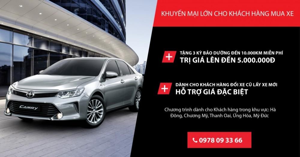 Toyota Hà Đông ưu đãi đặc biệt cho một số khu vực