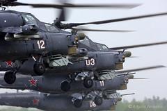 Night hunters leaving (Artyom Anikeev) Tags: night plane canon airplane aviation military hunter airforce mil avia planespotting kubinka mi28 ef600 uumb 5dmkiii anikeev artyomanikeev