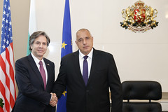 Deputy Secretary Blinken Meets With Bulgarian Prime Minister Borissov in Sofia (U.S. Department of State) Tags: sofia bulgaria boykoborissov tonyblinken antonyblinken