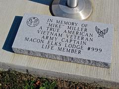 Elk's Lodge, Macon, MO (Robby Virus) Tags: life mike true sign plaque soldier army order lodge vietnam miller american missouri memory captain member protective veteran fraternal macon elks bpoe benevolent