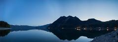Walchensee at evening (dominichuster.photography) Tags: landschaft walchensee abendhimmel ausblick lichter frhling sicht abendstimmung reflektionen strahlen sonya7r