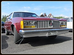 Oldsmobile Ninety Eight, 1979 (v8dub) Tags: auto old classic car schweiz switzerland automobile suisse automotive voiture 98 american oldtimer oldcar 1979 eight collector oldsmobile youngtimer ninety wagen pkw klassik bleienbach worldcars