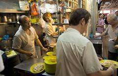 kitchen (PJHarrison) Tags: street travel food singapore southeastasia market malaysia dining satay hawkers skewers