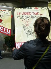 Manifeste... (Dolkar-photographe...) Tags: paris lutte grve syndicalisme droitssyndicaux manifestationdu14juin2016paris contrelaloielkhomri salarisenlutte