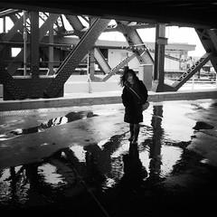 Bryce (ShelSerkin) Tags: street nyc newyorkcity portrait blackandwhite newyork subway candid streetphotography squareformat gothamist iphone mobilephotography iphoneography hipstamatic strangersintransit