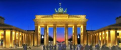 Brandenburg Gate Berlin - Blue Hour (Christian_from_Berlin) Tags: berlin germany europe brandenburggate bluehour brandenburgertor brandenburg