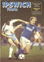 Ipswich Town v Manchester United 1981-1982 (Leslie Millman-Manchesterunitedman1) Tags: fatblimp obnoxious ignoramus rude arrogant alan bernard brazil