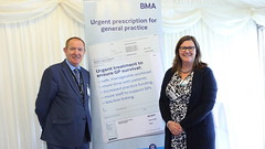 Urgent prescription for general practice event - May 2016 (BMA images) Tags: gp gpc urgentprescriptionforgeneralpractice