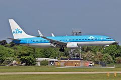"PH-BCA Boeing 737-8K2 KLM MAN 03-06-16 (PlanecrazyUK) Tags: man manchester klm 030616 ringway egcc airport"" boeing7378k2 ""manchester phbca"